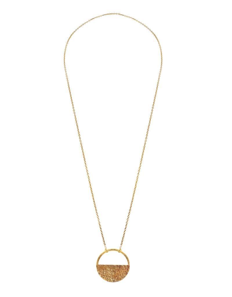 Purpose Jewelry Solstice Brass Necklace