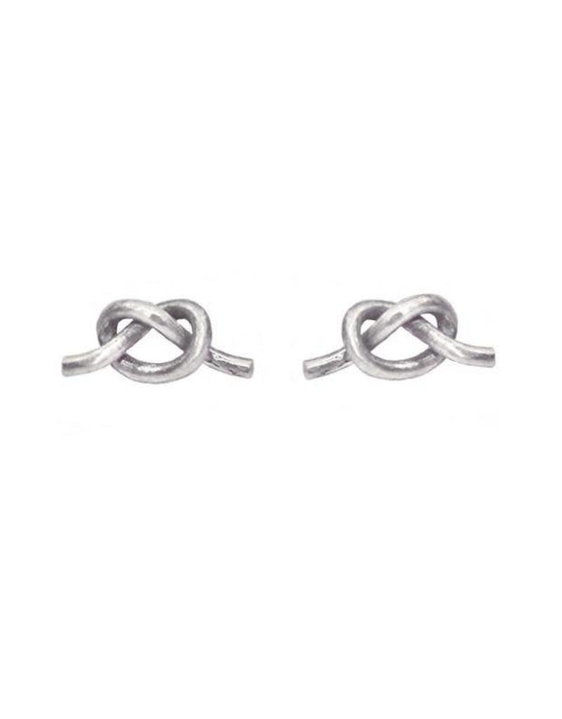Purpose Jewelry Knot Stud Earrings