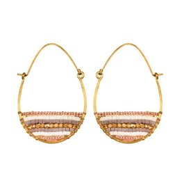 Purpose Jewelry Terra Gold Hoop Earrings