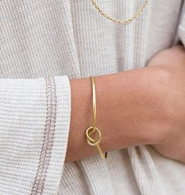 Purpose Jewelry Forget-Me-Knot Cuff