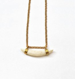Meyelo Bone Pendant Necklace