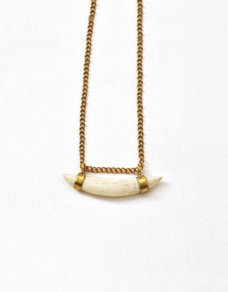 Meyelo Bone Pendant Necklace