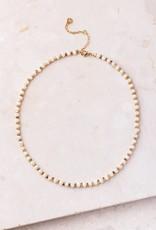 Starfish Project Tori Short Peach & Gold Necklace