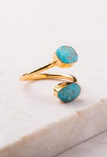 Starfish Project Kai Turquoise Stone Ring