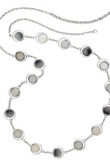 Saffy Handicrafts Pearly Cream Necklace