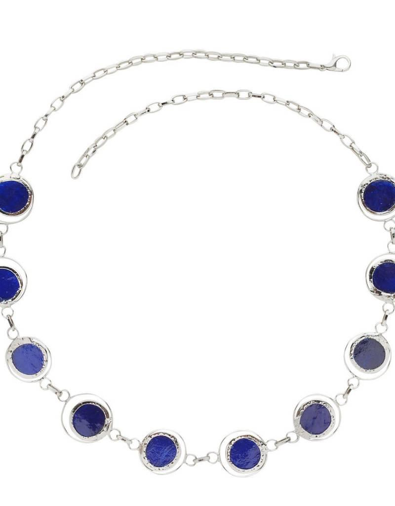 Saffy Handicrafts Deep Pool Necklace