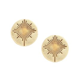 Rajana Bombshell Starburst Earrings