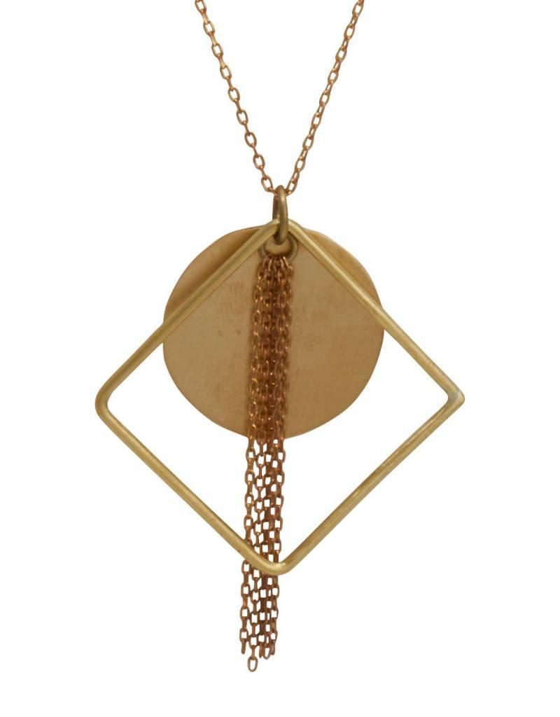 Rajana Bombshell Tassel Necklace