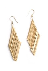 Mata Traders Layered Lines Earrings