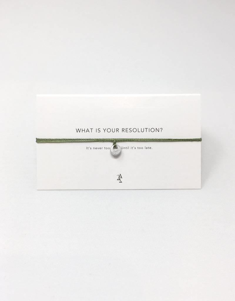 Article 22 Resolution Wrap Bracelet
