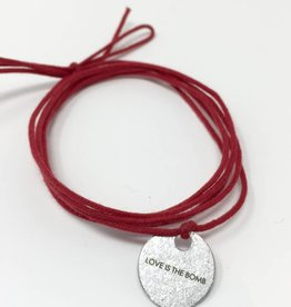 Article 22 Love is the Bomb Wrap Bracelet