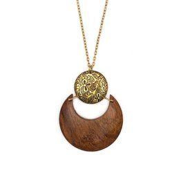 Matr Boomie Lunar Earth & Fire Necklace