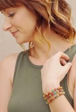 WorldFinds Dotted Kantha Bracelet