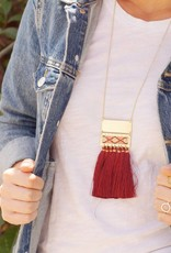 Mata Traders Boho Tassel Necklace