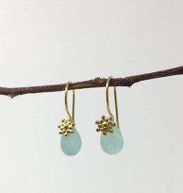 dZi Aqua Grotto Earrings
