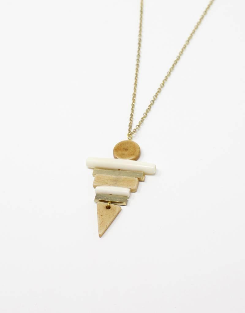 Tara Projects Arrow Pendant Necklace