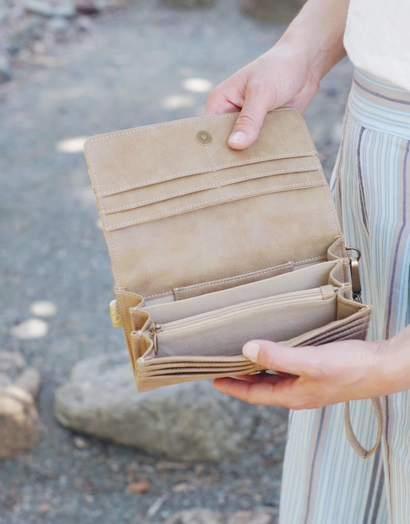 Joyn Vanya Vegan Wristlet Wallet