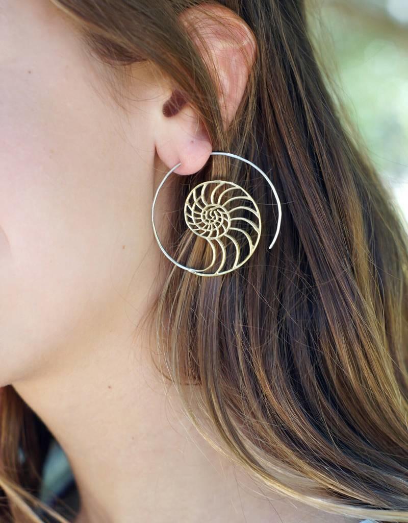 dZi Mermaid's Call Earrings