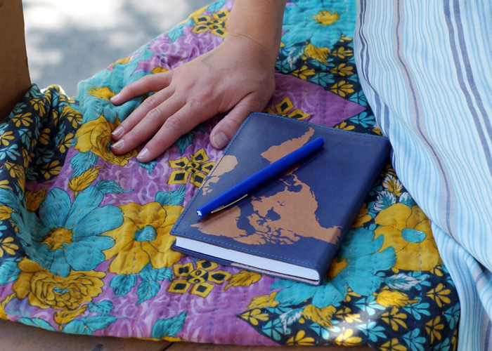 Our Globetrotter Journal is treated with the vegetable tanning method.