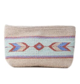 MZ Fair Trade Sagebrush + Sand Clutch