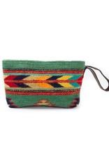 MZ Fair Trade Sun + Sea Wristlet Clutch