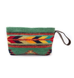 MZ Fair Trade Sun + Sea Wristlet Clutch