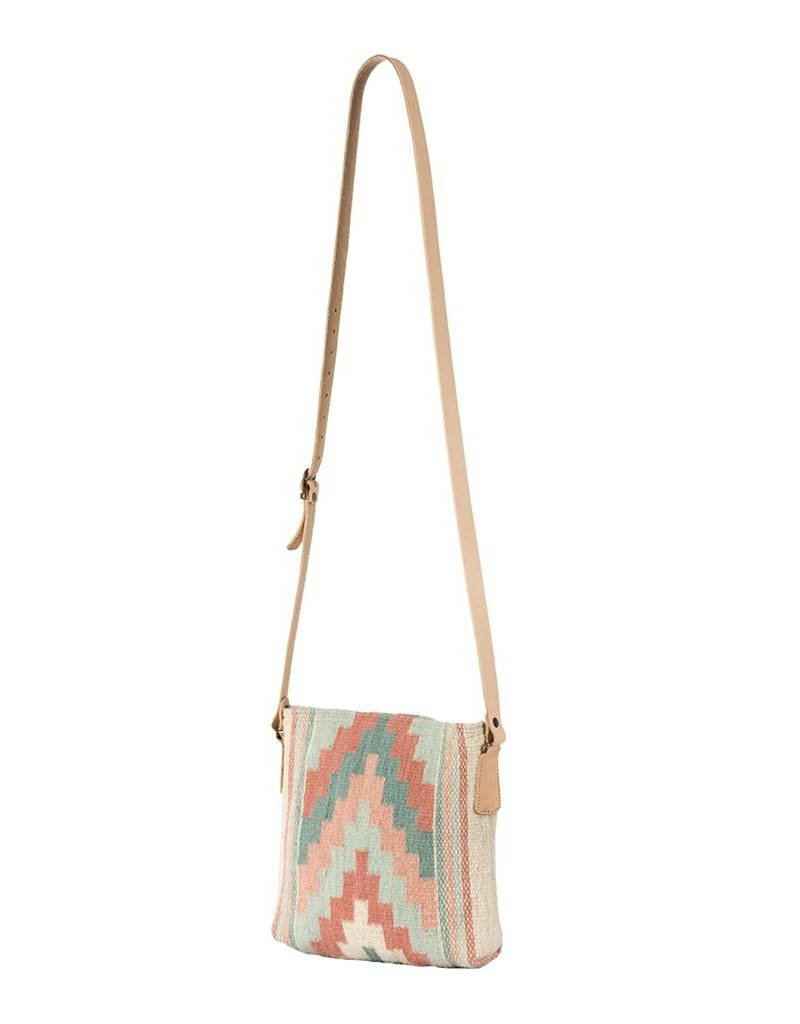 MZ Fair Trade Primavera Pyramid Crossbody Purse