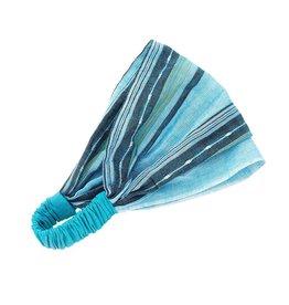 Manushi Blue Stripes Headband