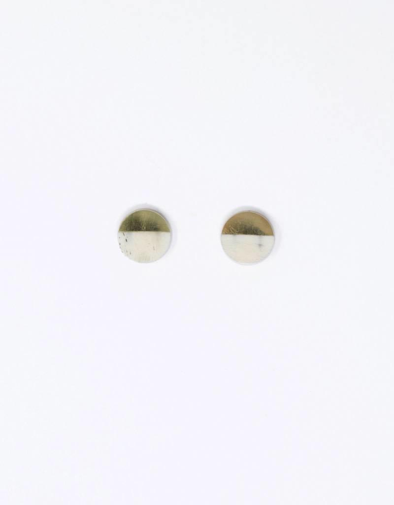 Meyelo Mari Circle Earrings