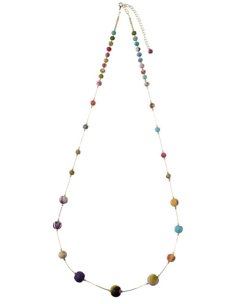 Tara Projects Sari Beads Necklace