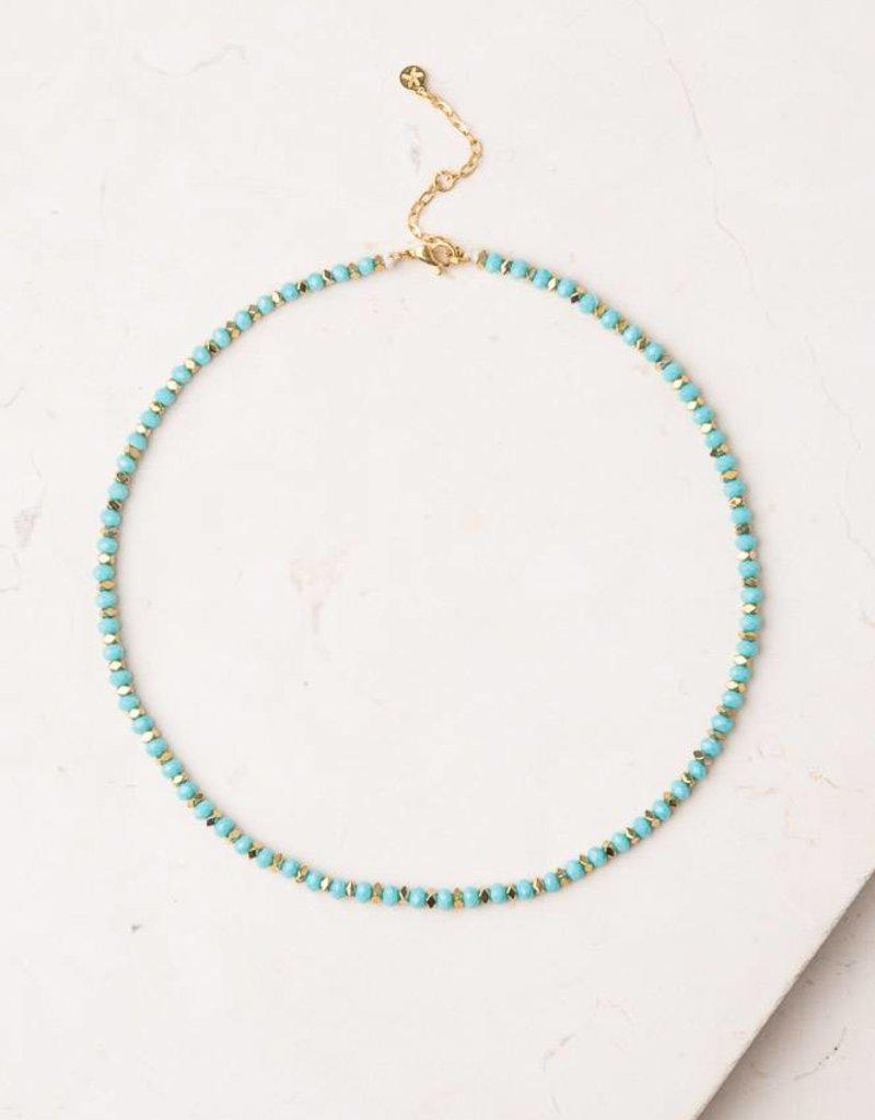 Starfish Project Light Blue Jones Necklace