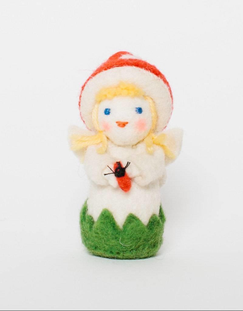Craftspring Mushroom Cap Fairy Ornament