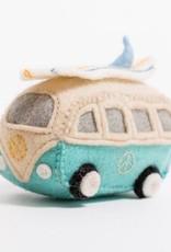 Craftspring Surf's up Hippie Bus Ornament