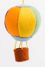 Craftspring Up Up & Away Hot Air Balloon Ornament