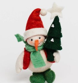 Craftspring Joyful Days Snowman Ornament