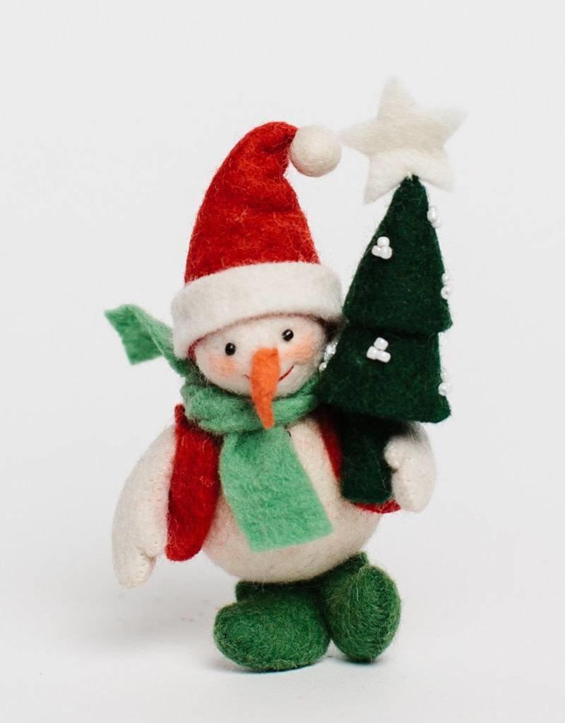 Craftspring Joyful Days Snowman Ornament