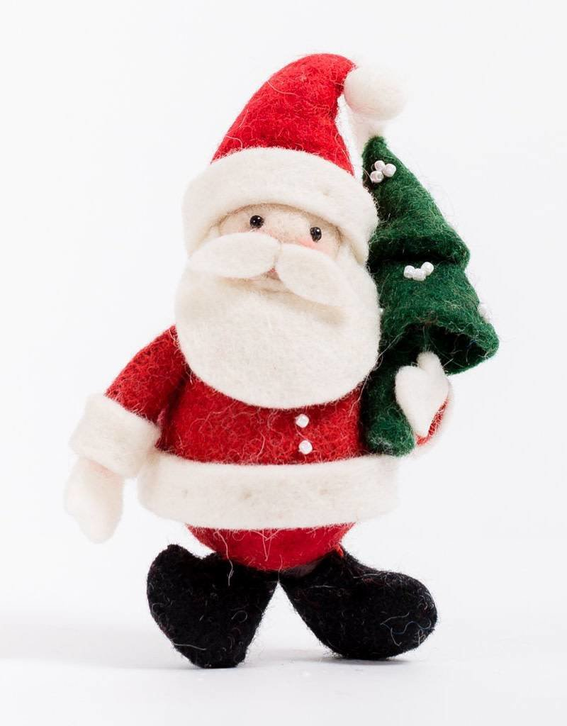 Craftspring Joyful Days Santa Ornament