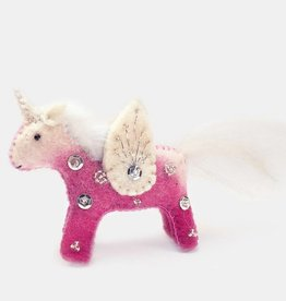 Craftspring Pink Unicorn Kid Pink Ornament