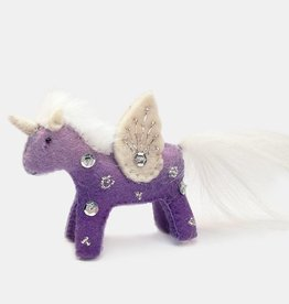 Craftspring Purple Unicorn Kid Purple Ornament