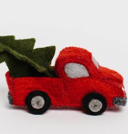 Craftspring Tree Farm Truck Ornament