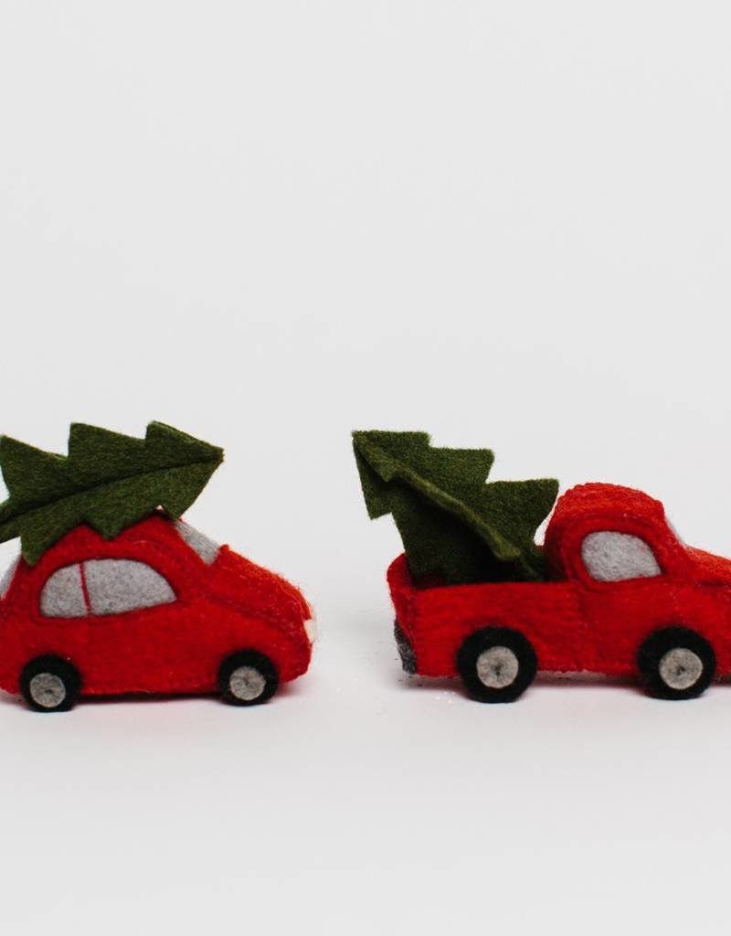 Craftspring Tree Farm Car Ornament