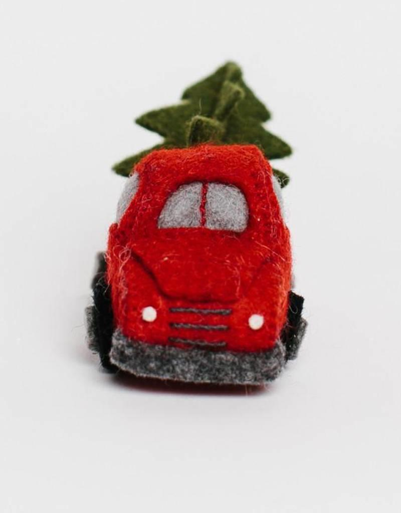 Craftspring Tree Farm Truck Ornament