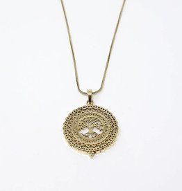 dZi Rooted Necklace