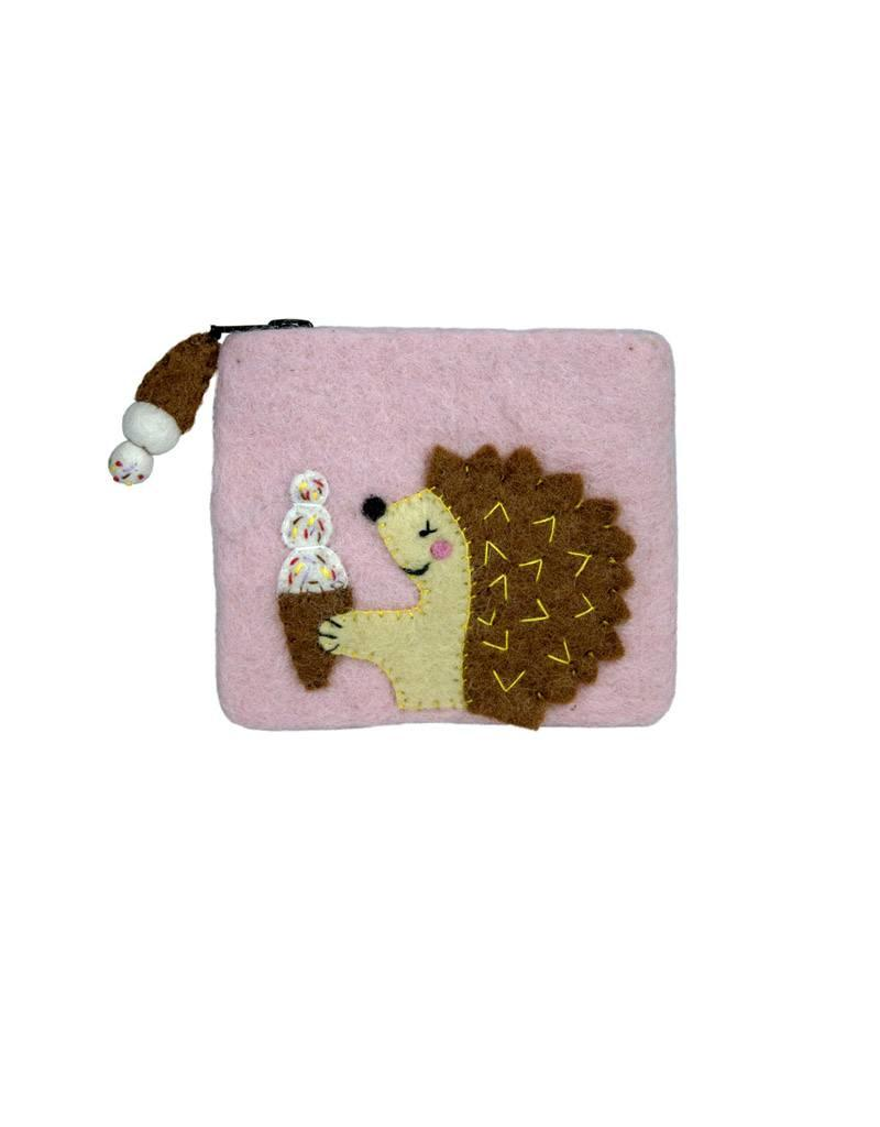dZi Hungry Hedgehog Coinpurse