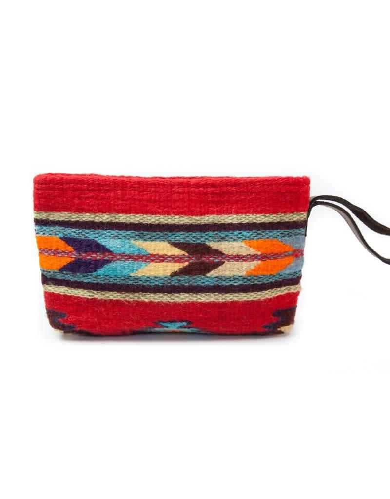 MZ Fair Trade Scarlet Arrow Wristlet Clutch