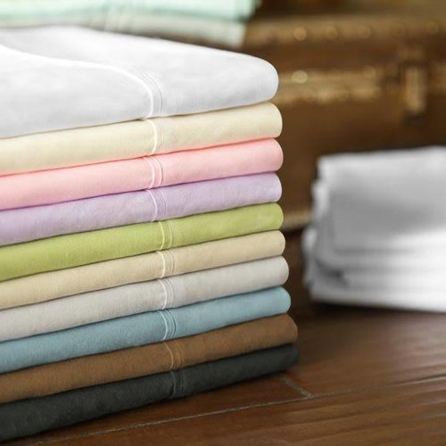 MALOUF WOVEN  Brushed Microfiber Sheet Set - Twin Extra Long