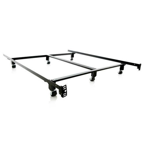 MALOUF Steel Lock Bed Frame - King