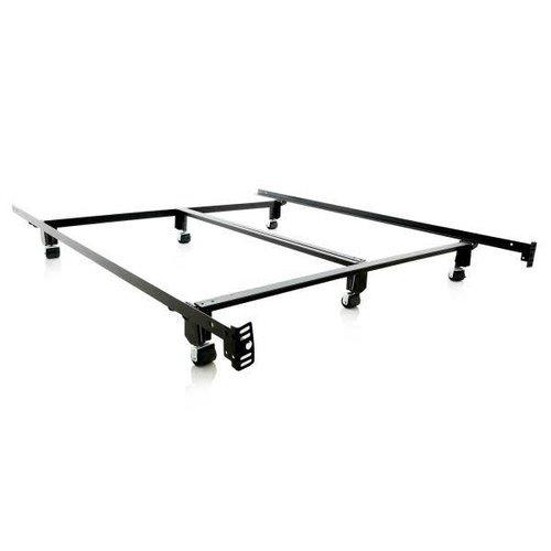 MALOUF Steel Lock Bed Frame - King