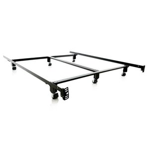 MALOUF Steel Lock Bed Frame - California King