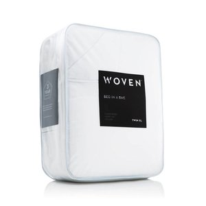 MALOUF WOVEN Bed-In-A-Bag - King White